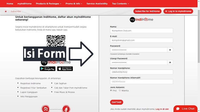 Cara mendapatkan voucher (akun) @wifi.id GRATIS (Cara Kedua) 2