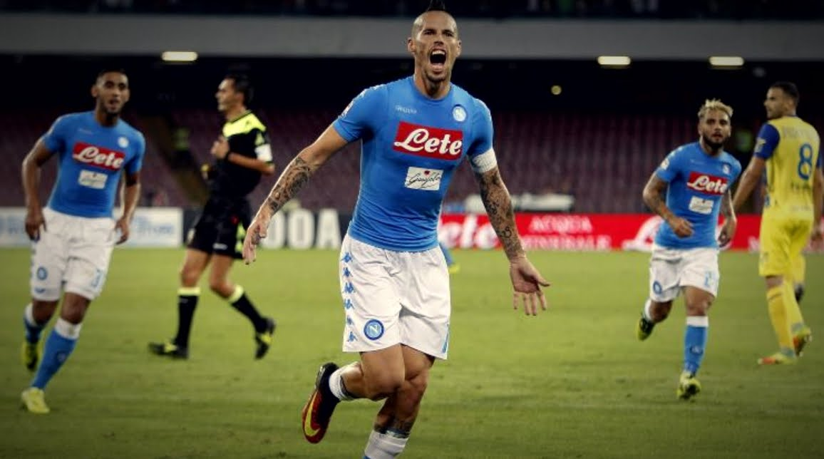 Napoli-Chievo Streaming Rojadirecta, dove vederla in Diretta TV e Online.