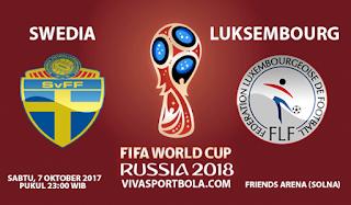 Prediksi Swedia vs Luksembourg 7 Oktober 2017