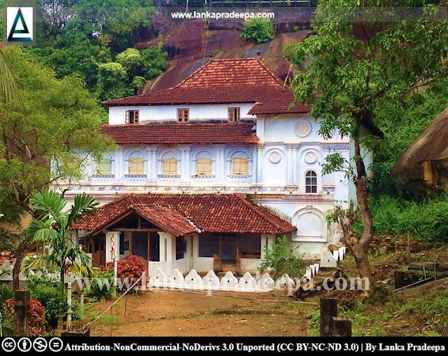 The three storey image house of Gallengolla Pothgul Raja Maha Viharaya, Kandy