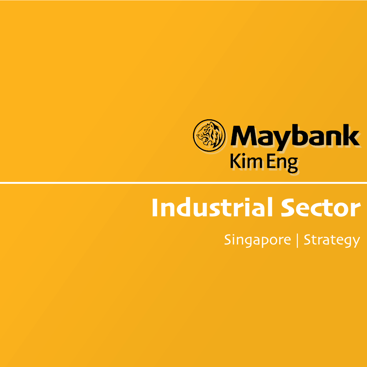 Industrial Sector Outlook - Maybank Kim Eng Research | SGinvestors.io