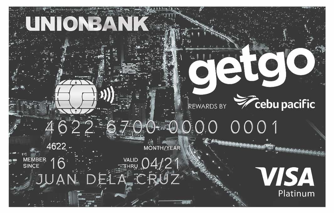 GetGo Platinum Credit Card