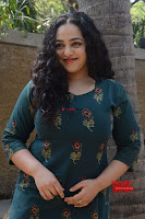 Nithya Menon promotes her latest movie in Green Tight Dress ~  Exclusive Galleries 033.jpg