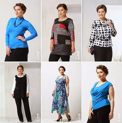 Каталог оптовиков  Lina - женская одежда больших размеров оптом a1077d0b946