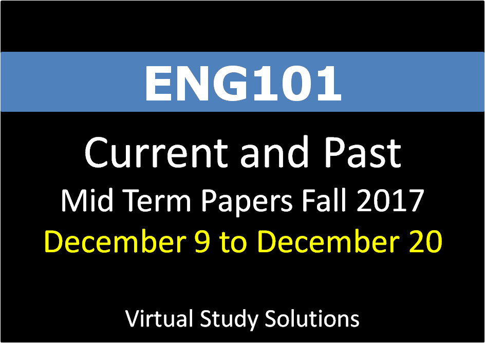 eng 101 mid term paper 20% mid-term exam (4-5pp)  in addition to handing in a paper copy, your essay  eng 101 course webpages.