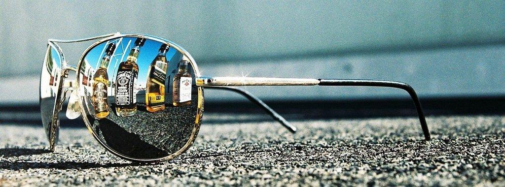 Cool eye glass