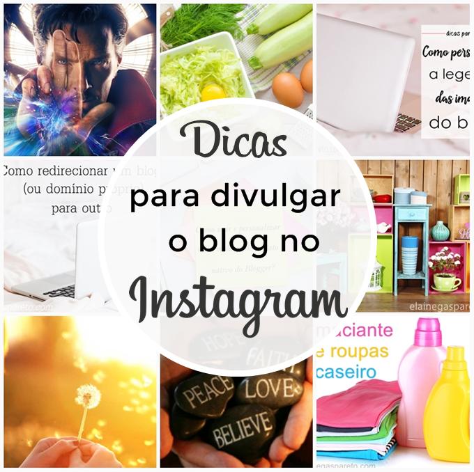 dicas para divulgar o blog no instagram