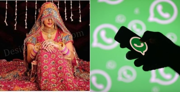 Indian Family Calls Of Wedding Due To Bride's Addiction To Whatsapp