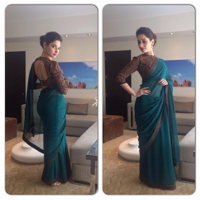 Actress Tamanna Wallpapers in Saree