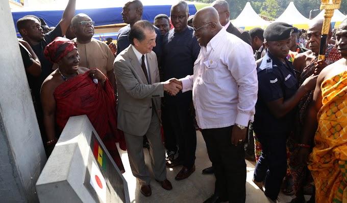 President Akufo-Addo commissions refurbished Sekondi Fishing Harbour