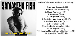 Samantha fish releases new album belle of the west on for Samantha fish belle of the west