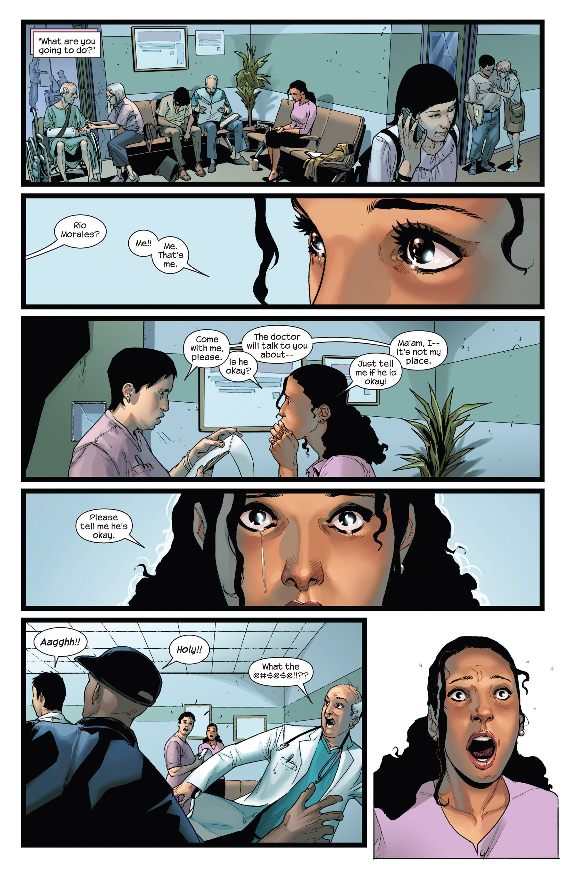 Read online Ultimate Comics Spider-Man (2011) comic -  Issue #21 - 20