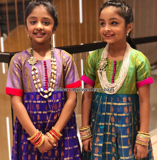 Manchu Vishnu Daughter Beads Jewelry