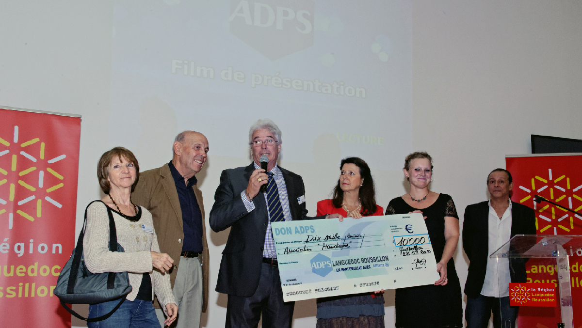L'ADPS (Association De Prévoyance Santé) a reconnu mon travail de développement