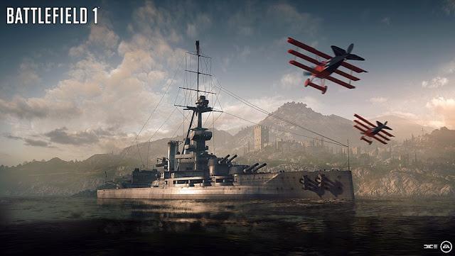 Battlefield 1 comparte su tráiler de lanzamiento