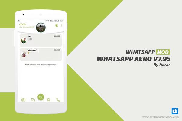 WhatsApp Aero V7.95 By Hazar