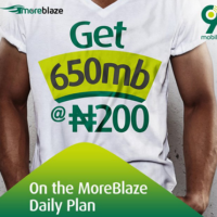 9mobile 650mb for #200