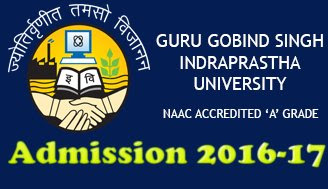GGS INDRAPRASTHA UNIVERSITY Common Entrance Test for Graduate Courses (2017-18)