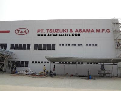Lowongan Kerja Via eMail PT Tsuzuki Indonesia Manufacturing
