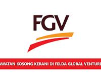 Jawatan Kosong di Felda Global Ventures Holdings Berhad - Kerani | Permohonan Terbuka