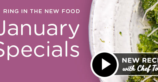 January Specials Thrive Life Foods