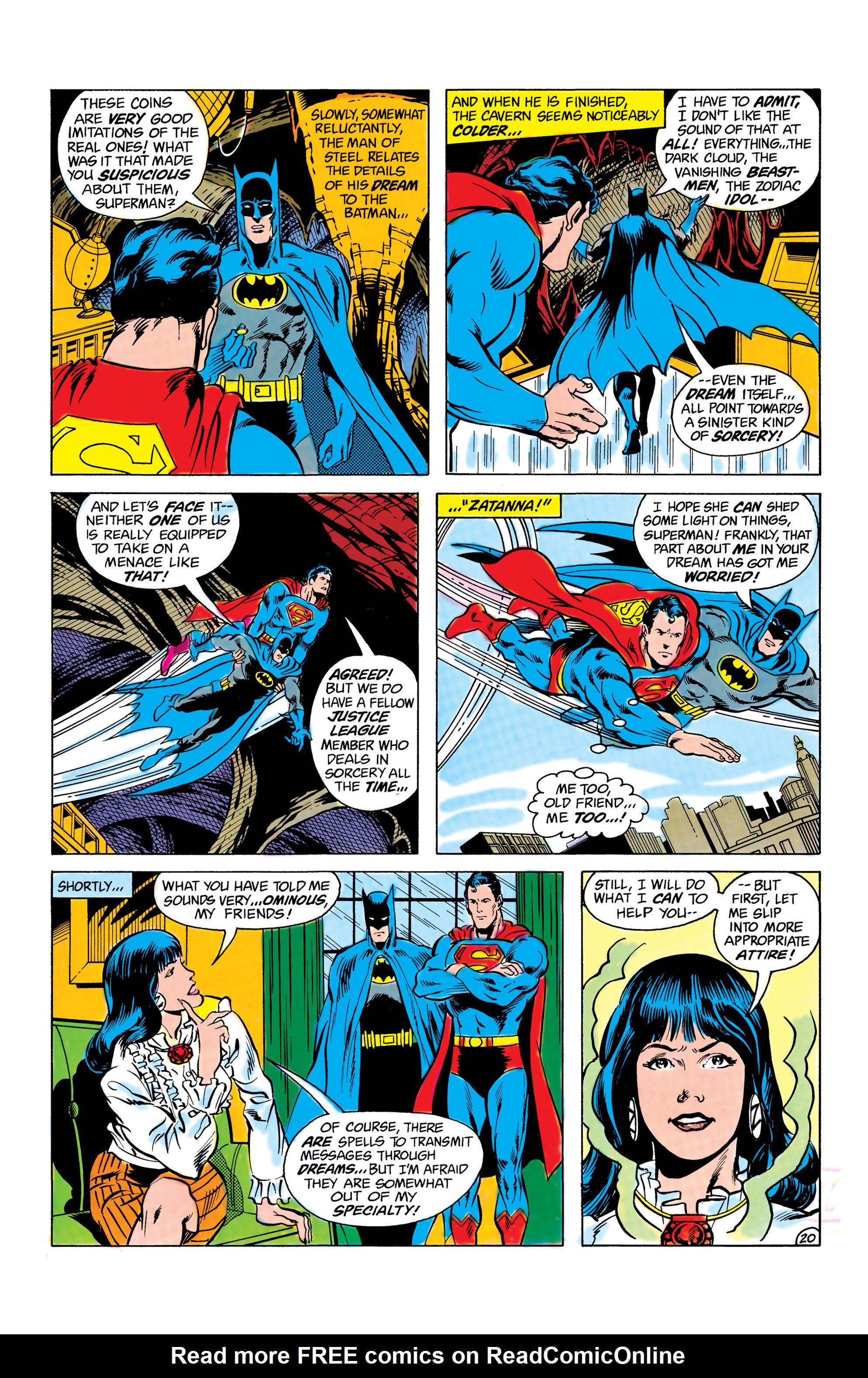 Read online World's Finest Comics comic -  Issue #285 - 21