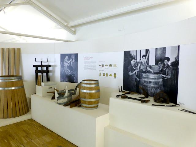 Interior del Museo de las Ciencias del Vino en Almendralejo