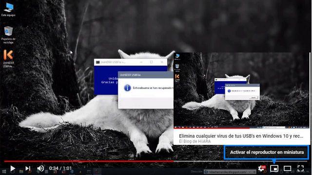 Chrome habilita de forma predeterminada el modo Picture-in-Picture en el escritorio