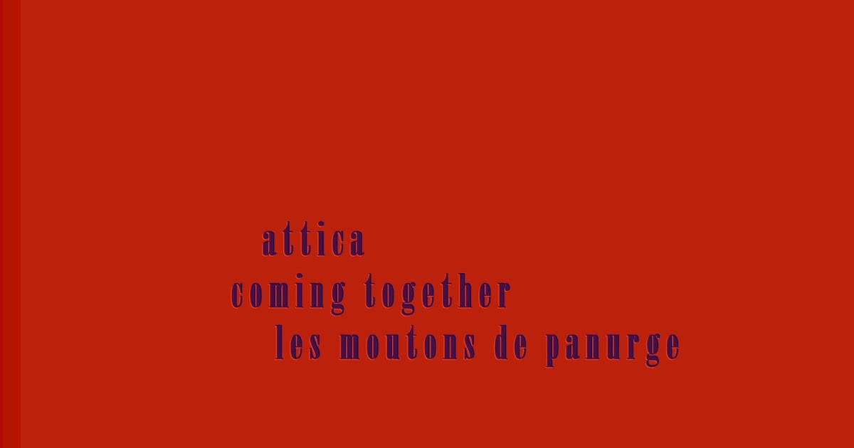 Frederic Rzewski Coming Together Les Moutons De Panurge Attica