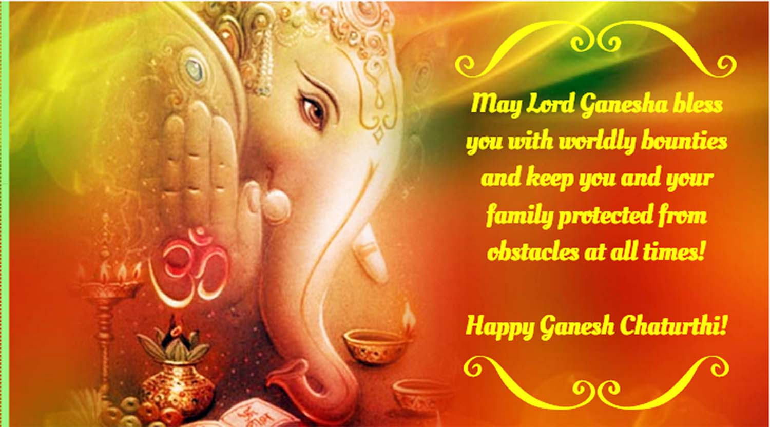 Happy Vinayaka chaturthi greetings