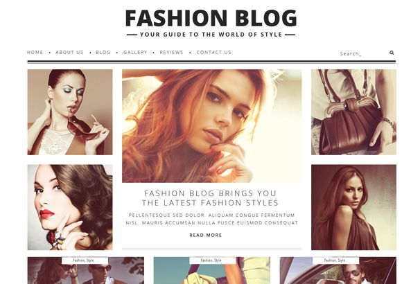 Beauty/Fashion Blog Theme