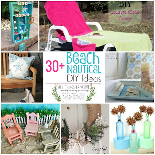 Over 30 Fabulous Beach Nautical Inspired DIY Ideas