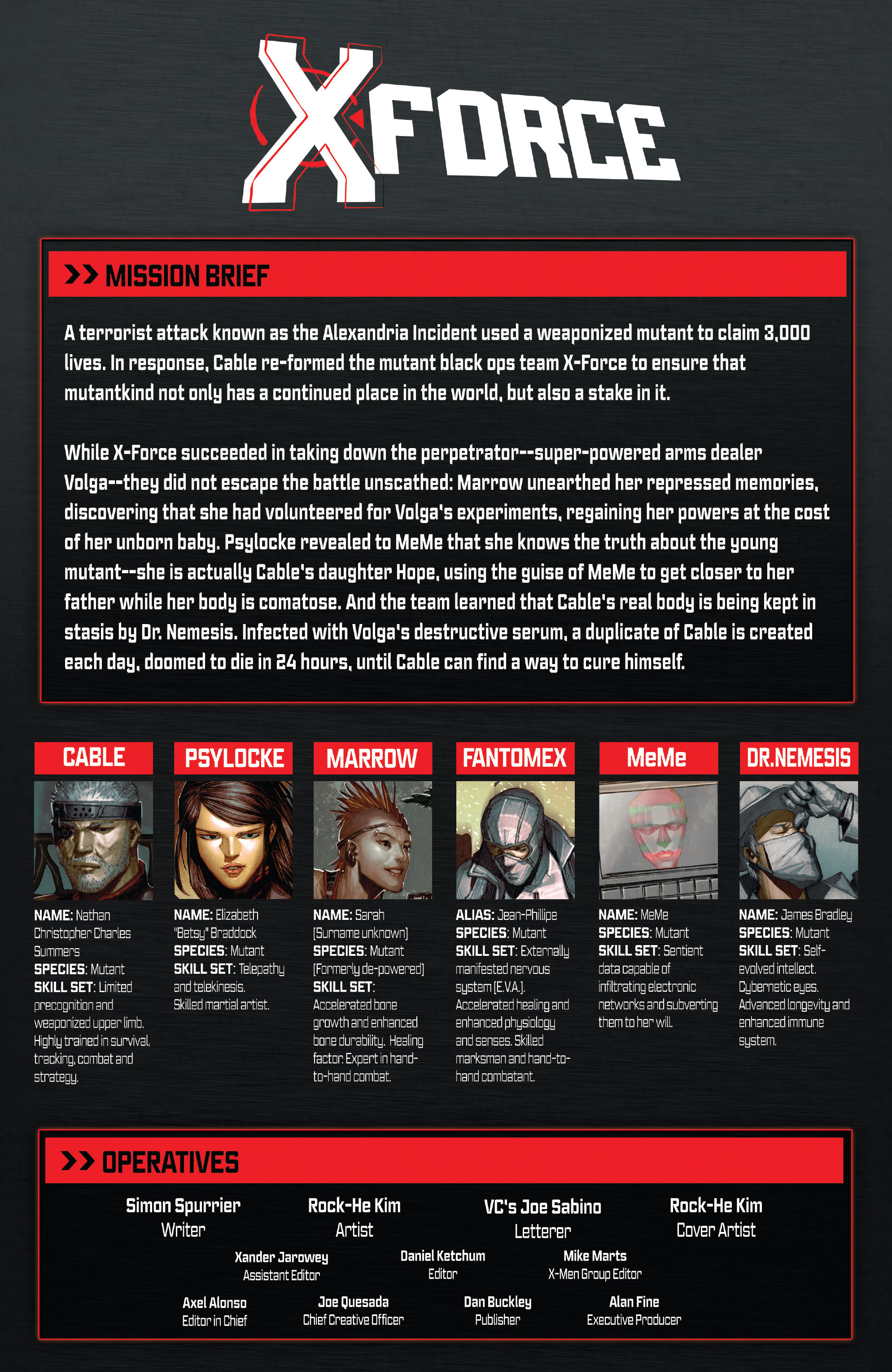 Read online X-Force (2014) comic -  Issue #7 - 2
