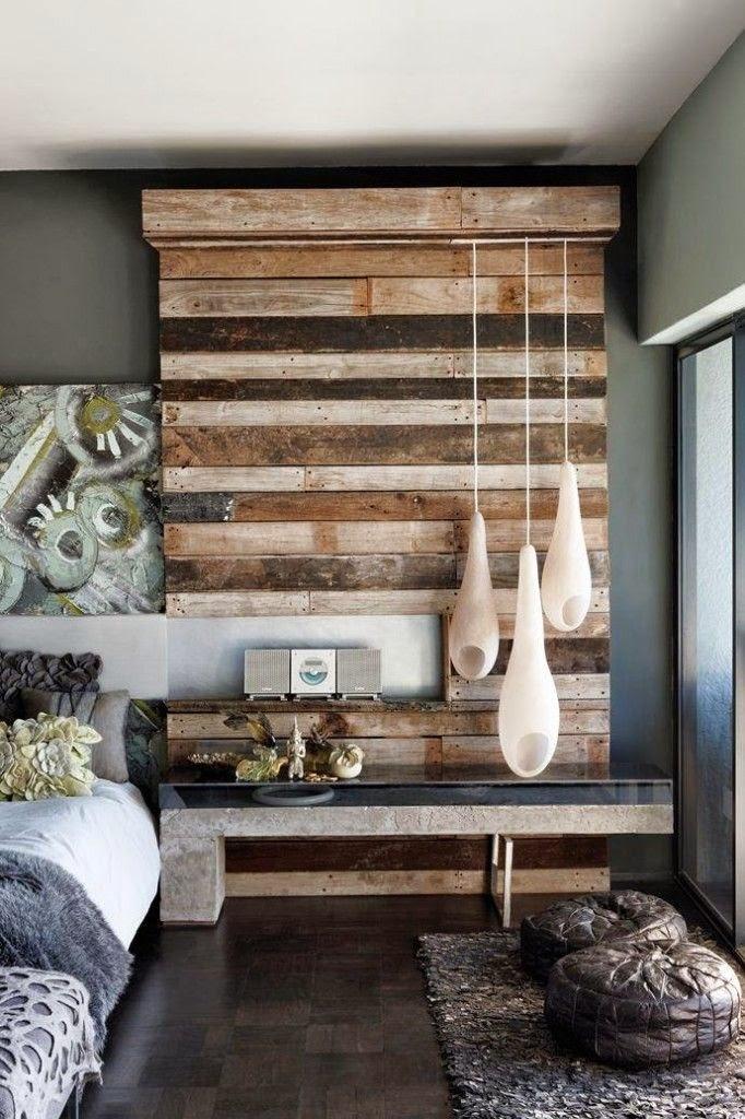 Habitaciones de estilo rústico moderno - Dormitorios colores y estilos