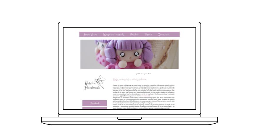 projekt bloga Katalin Handmade