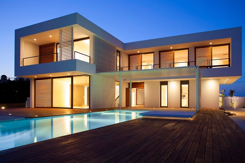 Casa moderna en menorca por dom arquitectura menorca for Arquitectura de espana