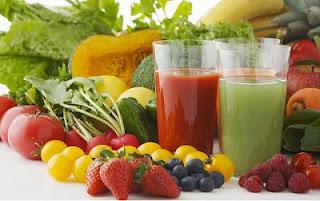 dieta detox, zumo detox, frutas detox