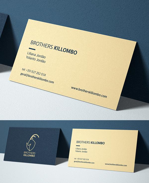 Inspirasi Desain Branding Identity - Brothers Killombo Branding