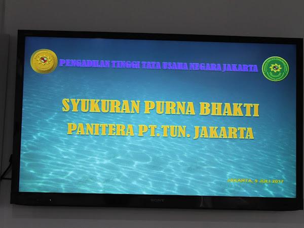 Syukuran Purna Bhakti Panitera Muljadi, SH, MSi