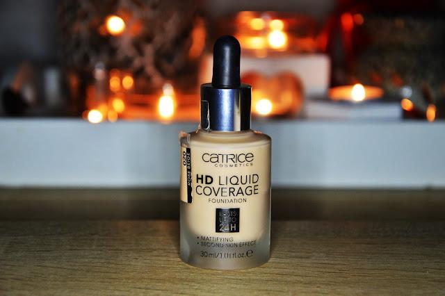 Catrice HD Liquid Coverage płynny podkład HD.