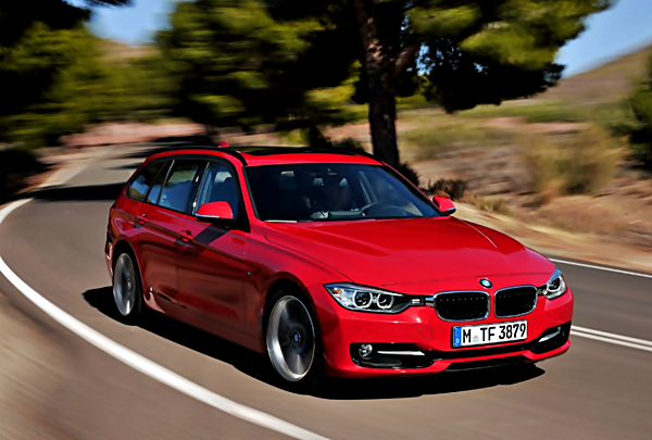 2018 BMW 3 SERIES TOURING (G21) WITH THREE-CYLINDER