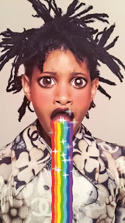 Garage Magazine Snapchat Code Secret Filters Willow Smith