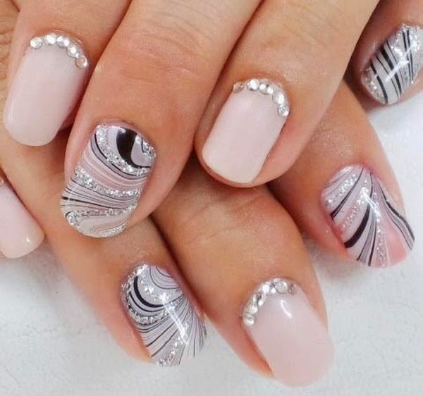 She247: Latest Nail Art Designs For Beginners 2014