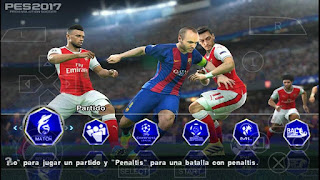 Download PES 2017 Mod MX IN SPANISH PSP Android