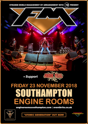 FM + Voodoo Vegas - Southampton Engine Rooms - 23 Nov 2018 - poster