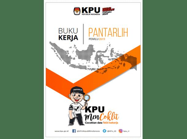 Buku Kerja PANTARLIH (Pemutakhiran Data Pemilih) PEMILU 2019