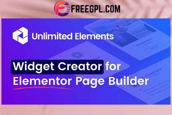Unlimited Elements for Elementor Free Download
