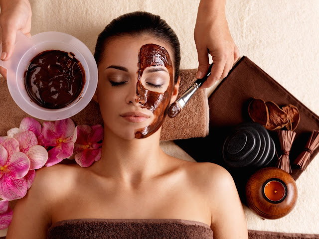 the benefits of chocolate for face masks and how to make it