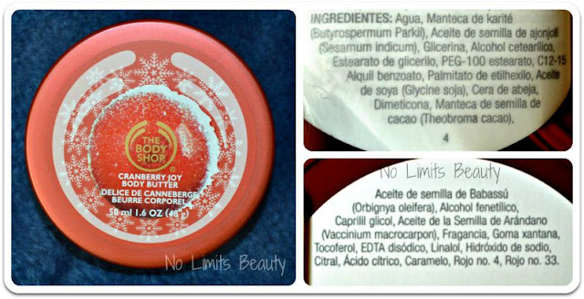 The Body Shop - Cranberry Joy Body Butter