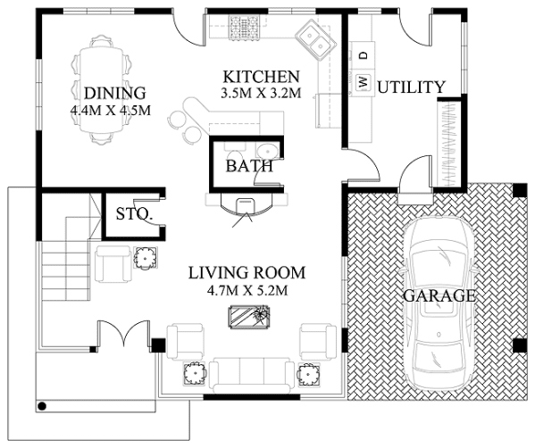 2 Bedroom additionally Beat Heat If You Want Cool House Get Shotgun also Pp325 348 besides Floor Plan Friday Living On Acreage furthermore Winchester Mystery House Floor Plan. on small modern houses